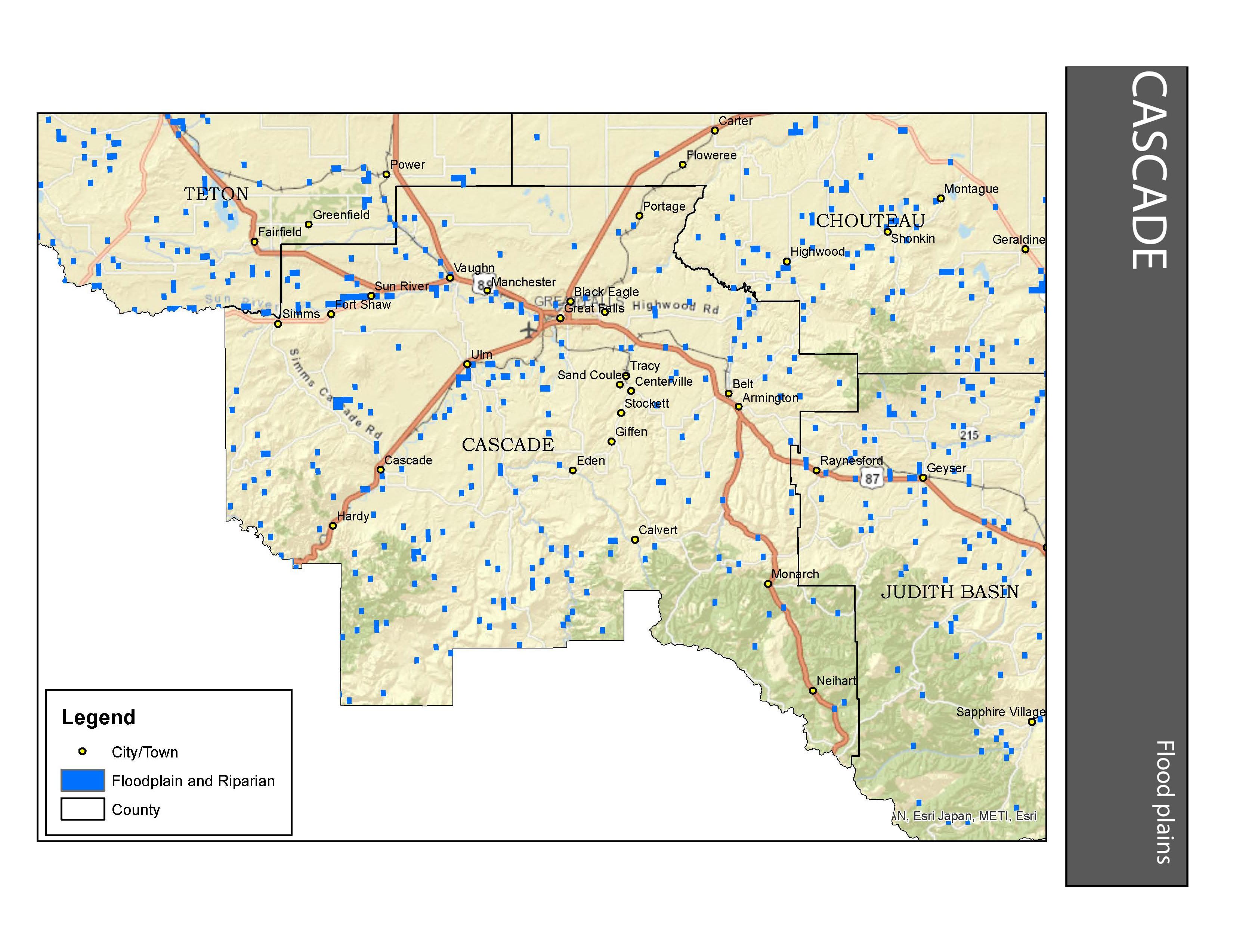 Floodplains Cascade County