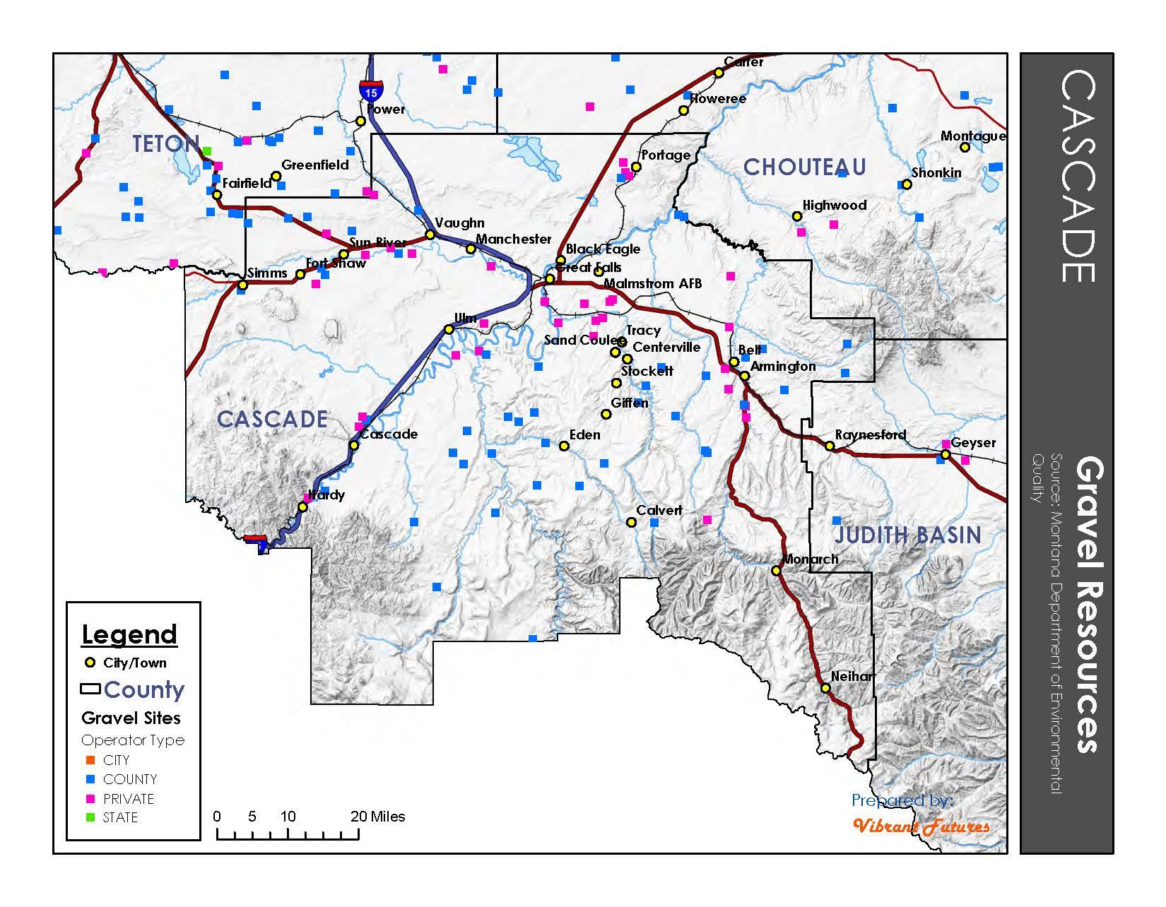 Gravel Resources Cascade County