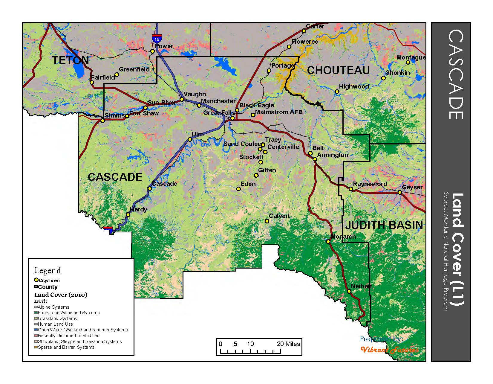Land Cover  Cascade County