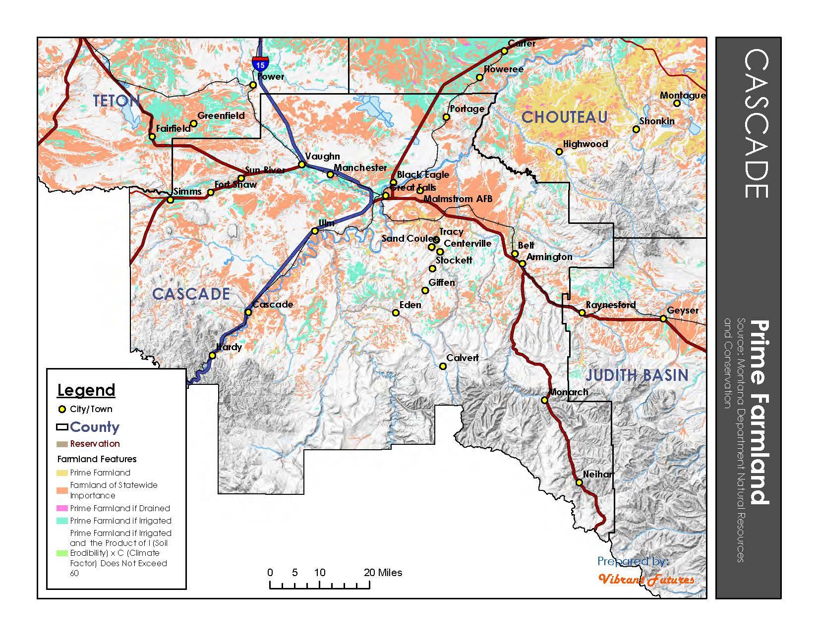 Prime Farmland Cascade County