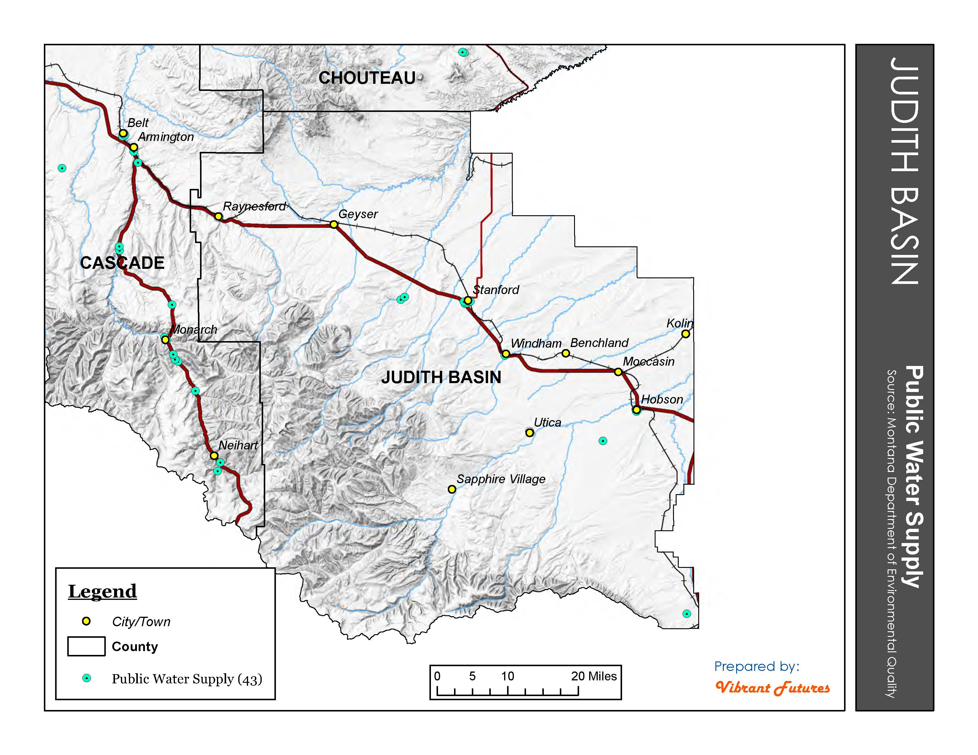 Public Water Supply Judith Basin County