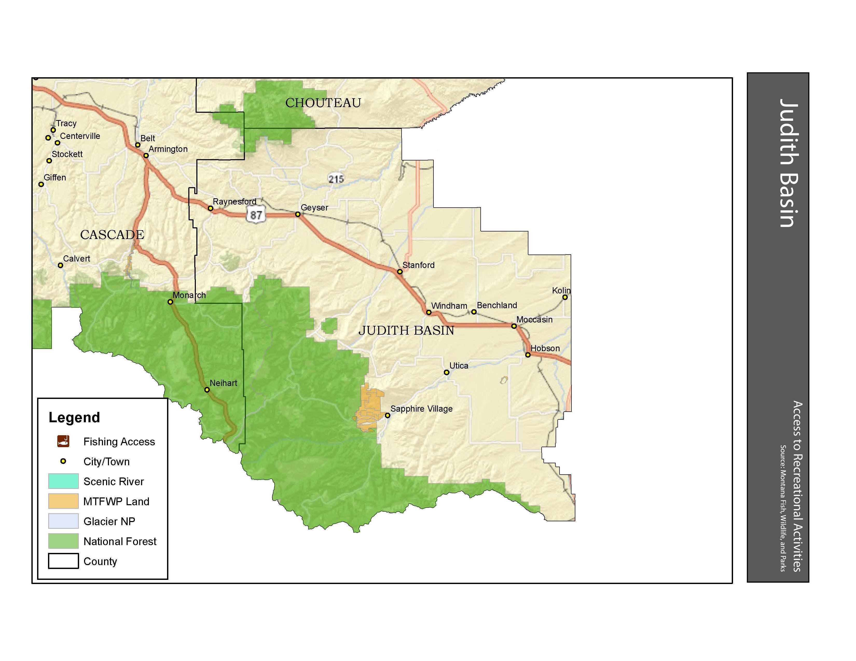 Recreation Judith Basin County