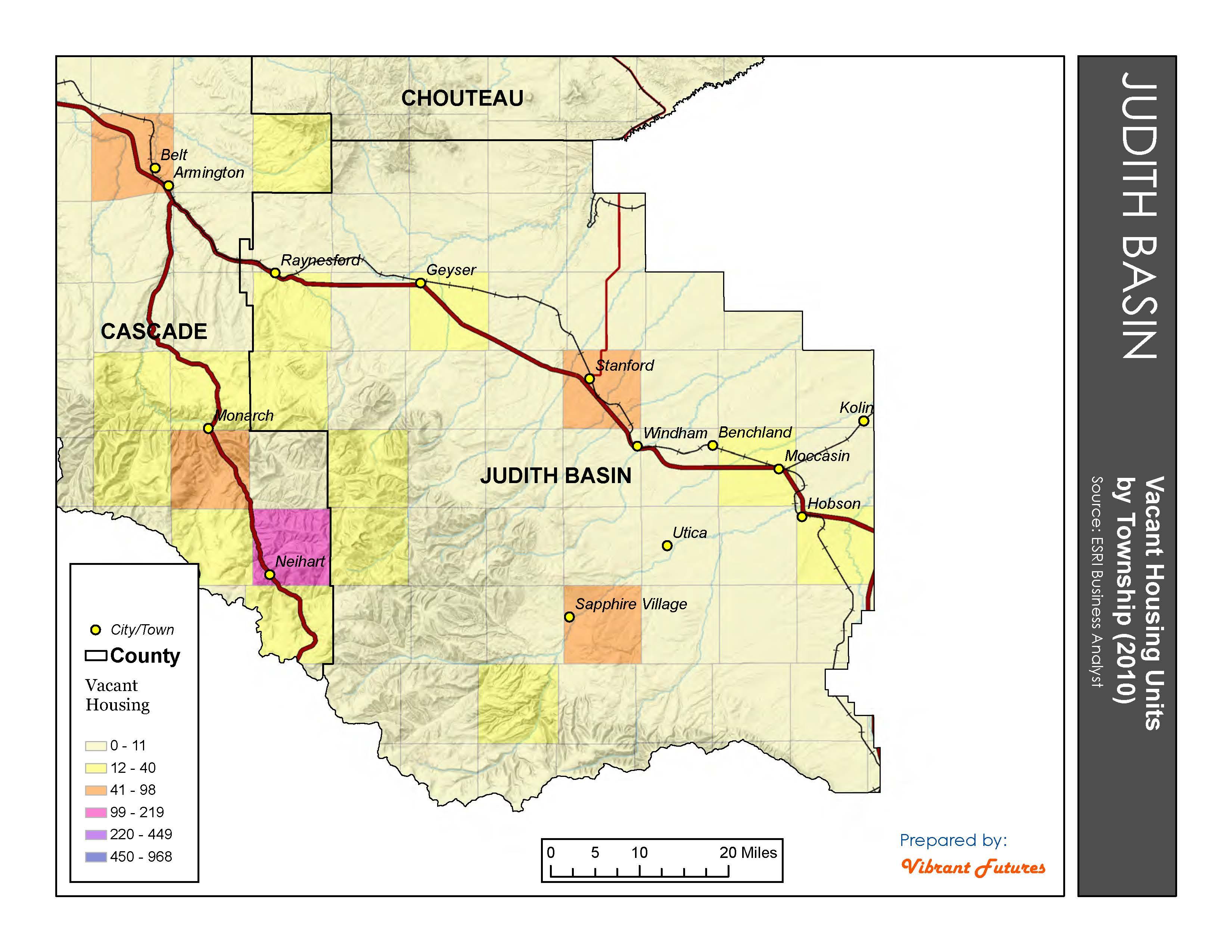 Vacant Housing Units Judith Basin County