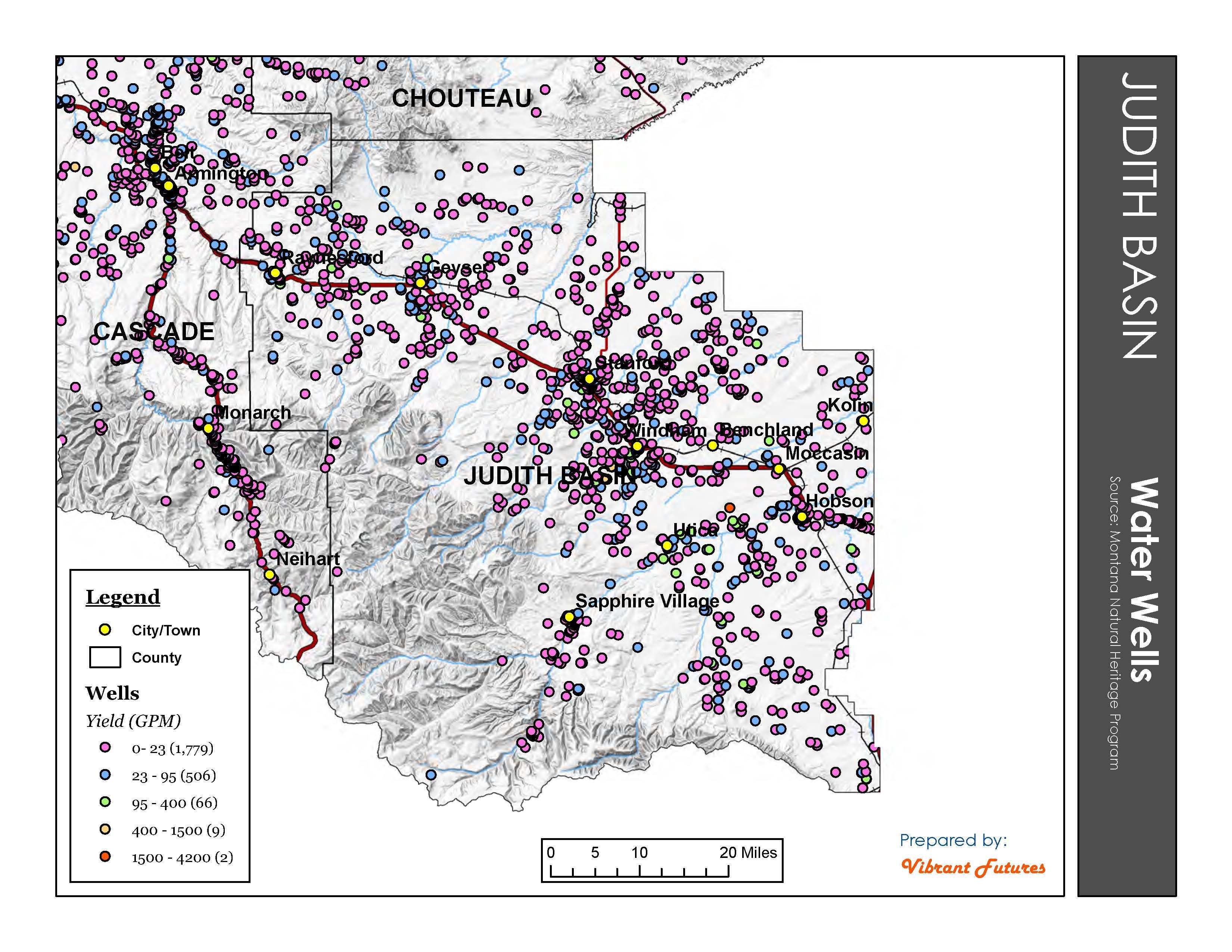 Water Wells Judith Basin County