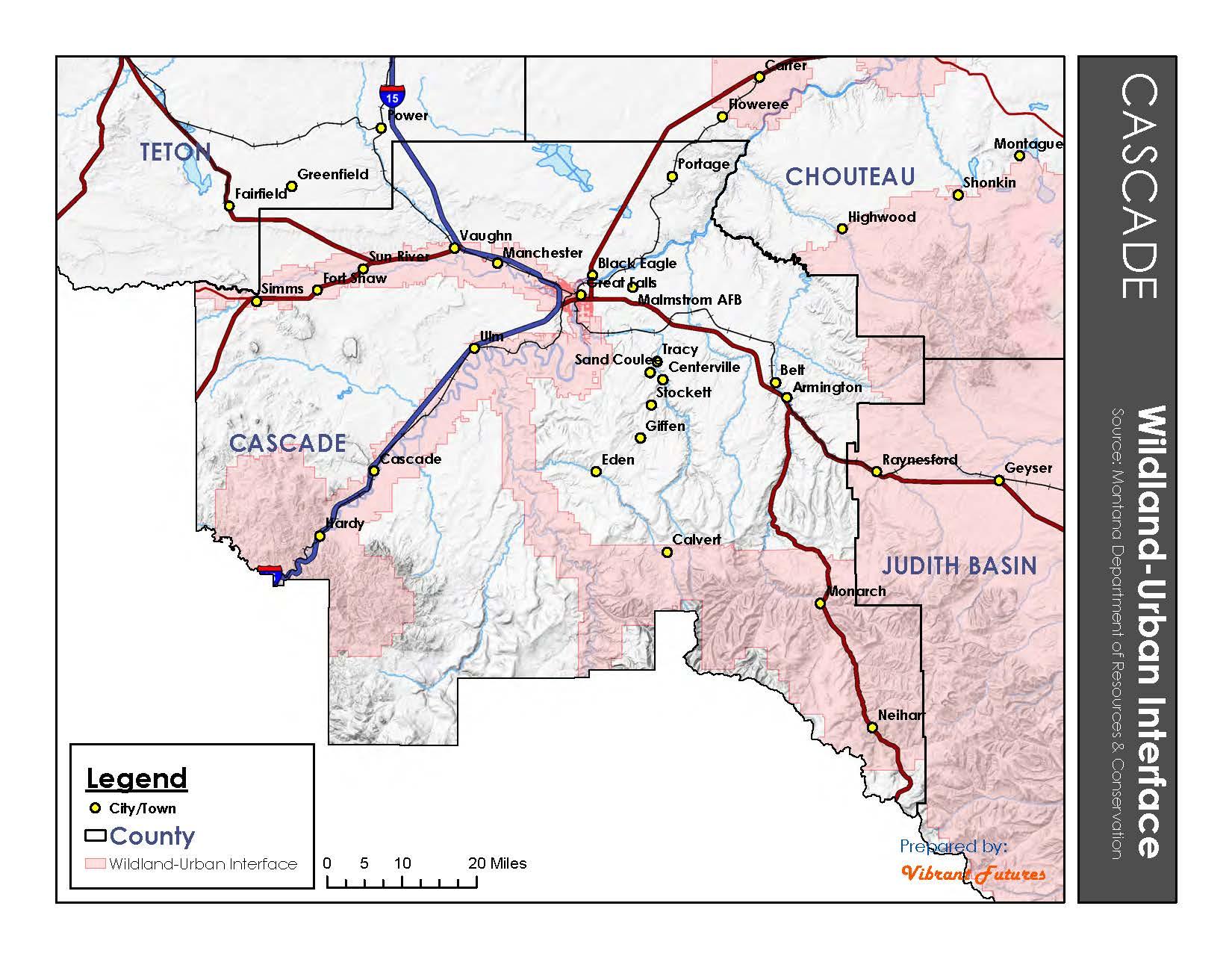 Wildland Urban Interface Cascade County