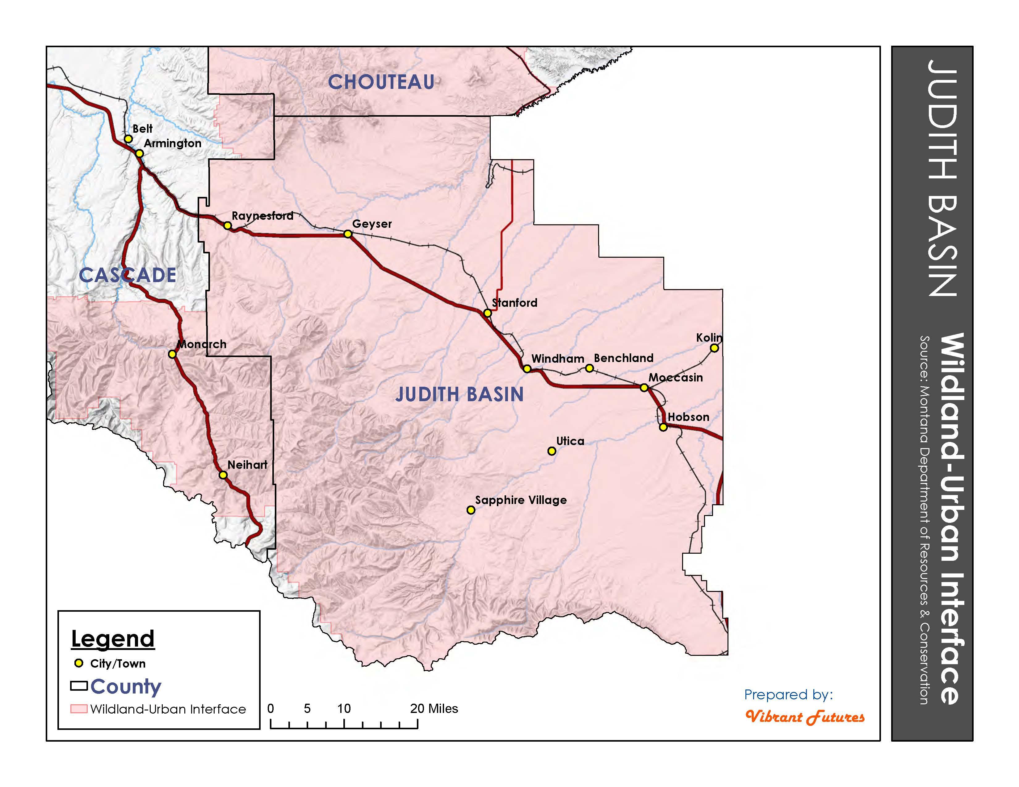 Wildland Urban Interface Judith Basin County