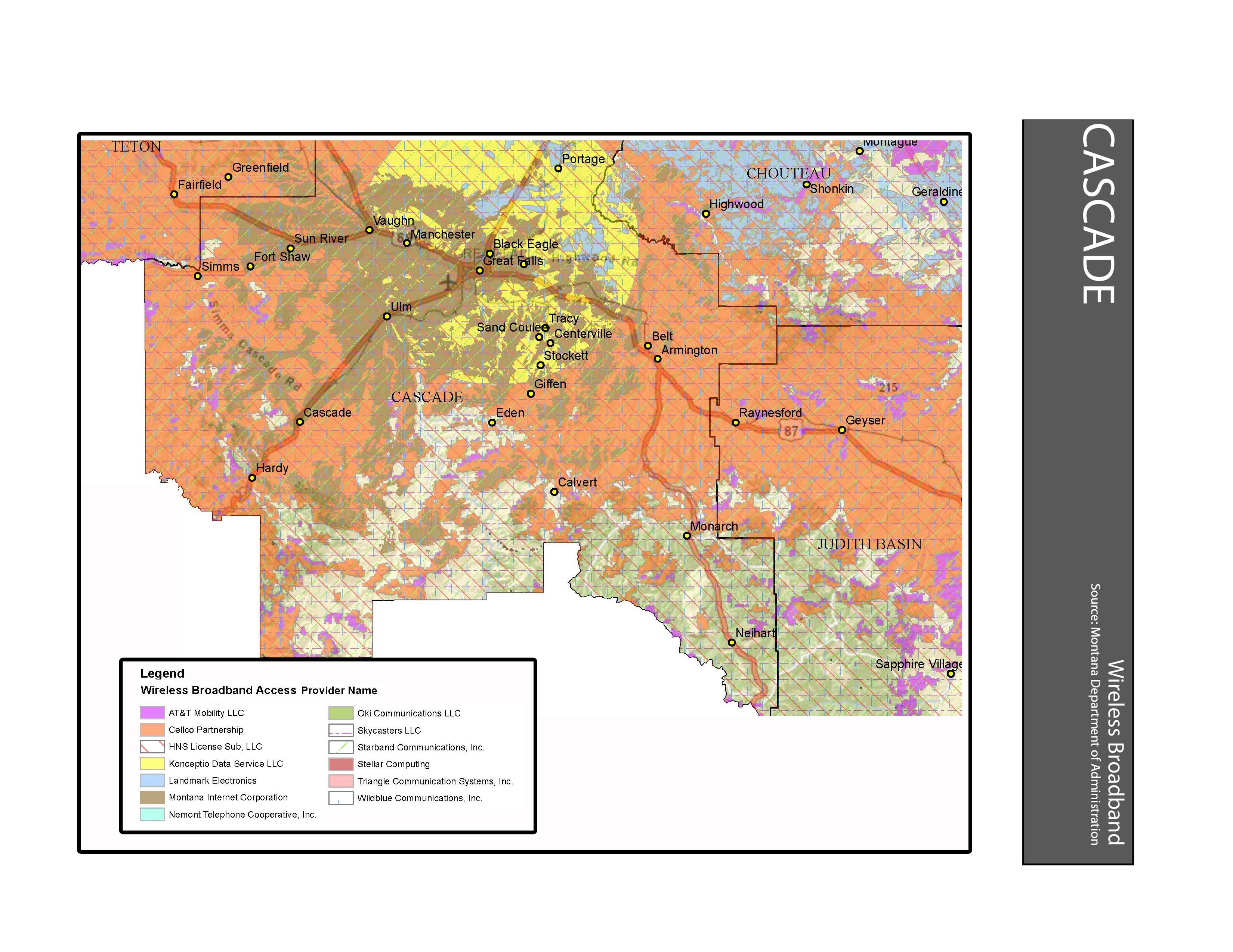 Wireless Broadband Access Cascade County