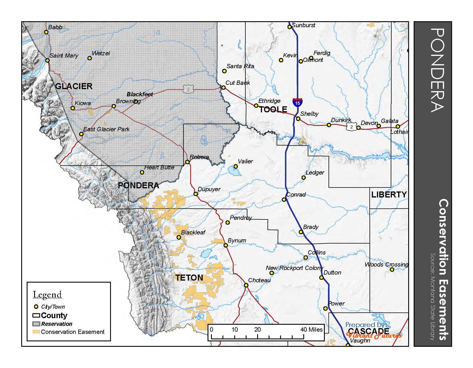 Conservation Easements Pondera County