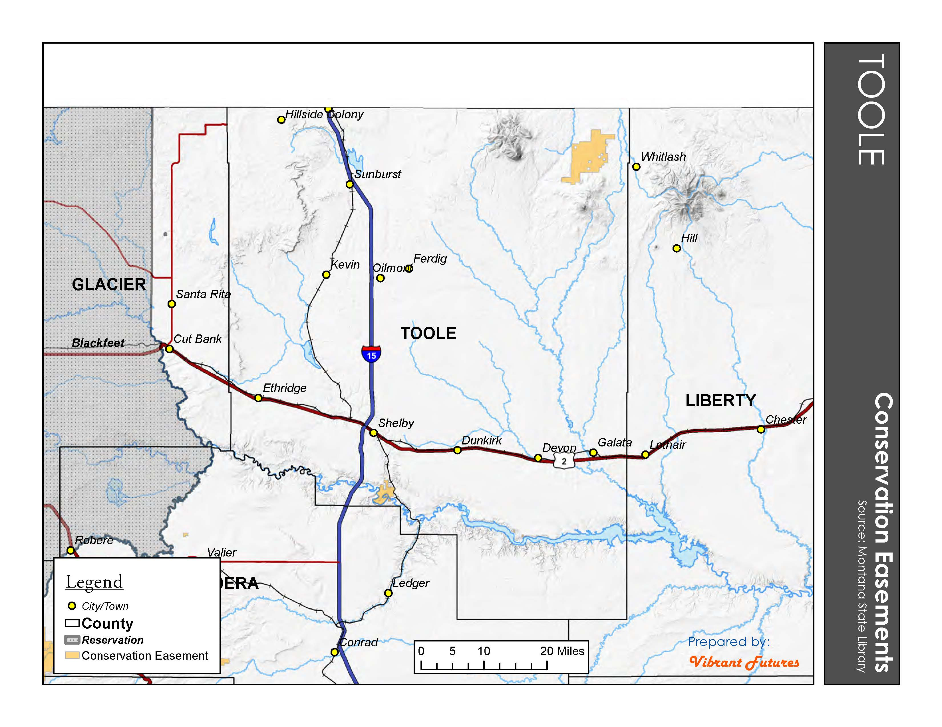 Conservation Easements Toole County