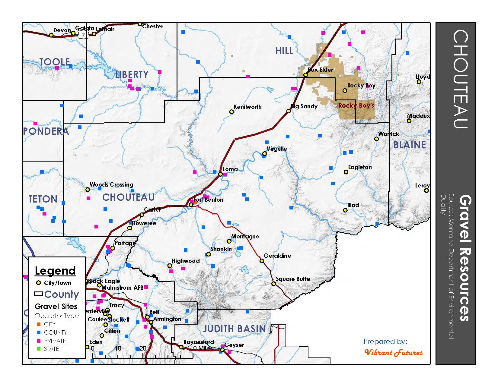 Gravel Resources Chouteau County