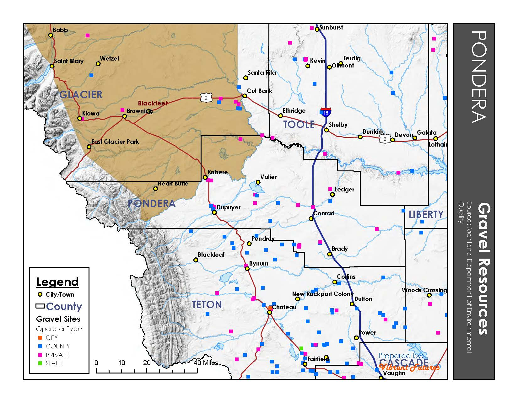 Gravel Resources Pondera County