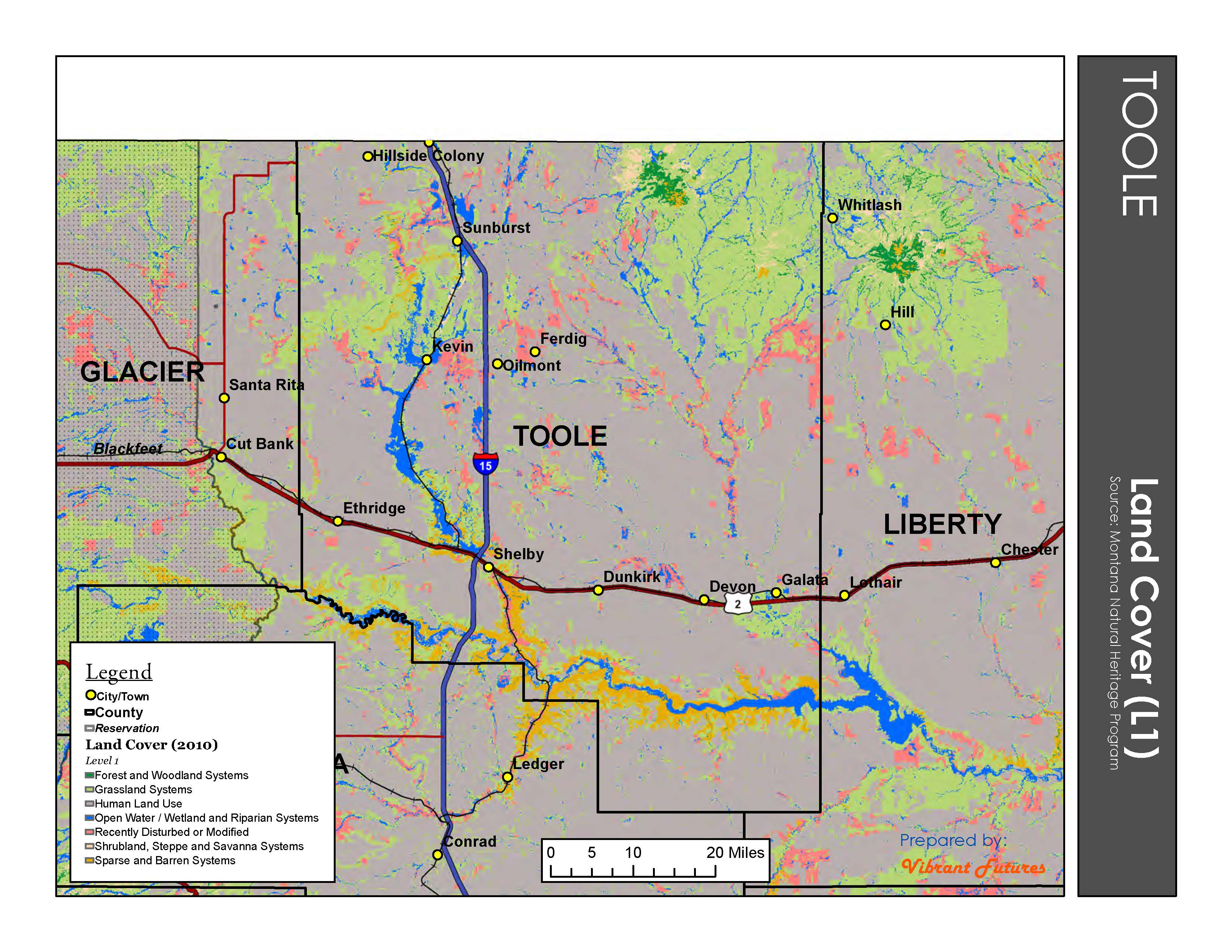 Land Cover  Toole County