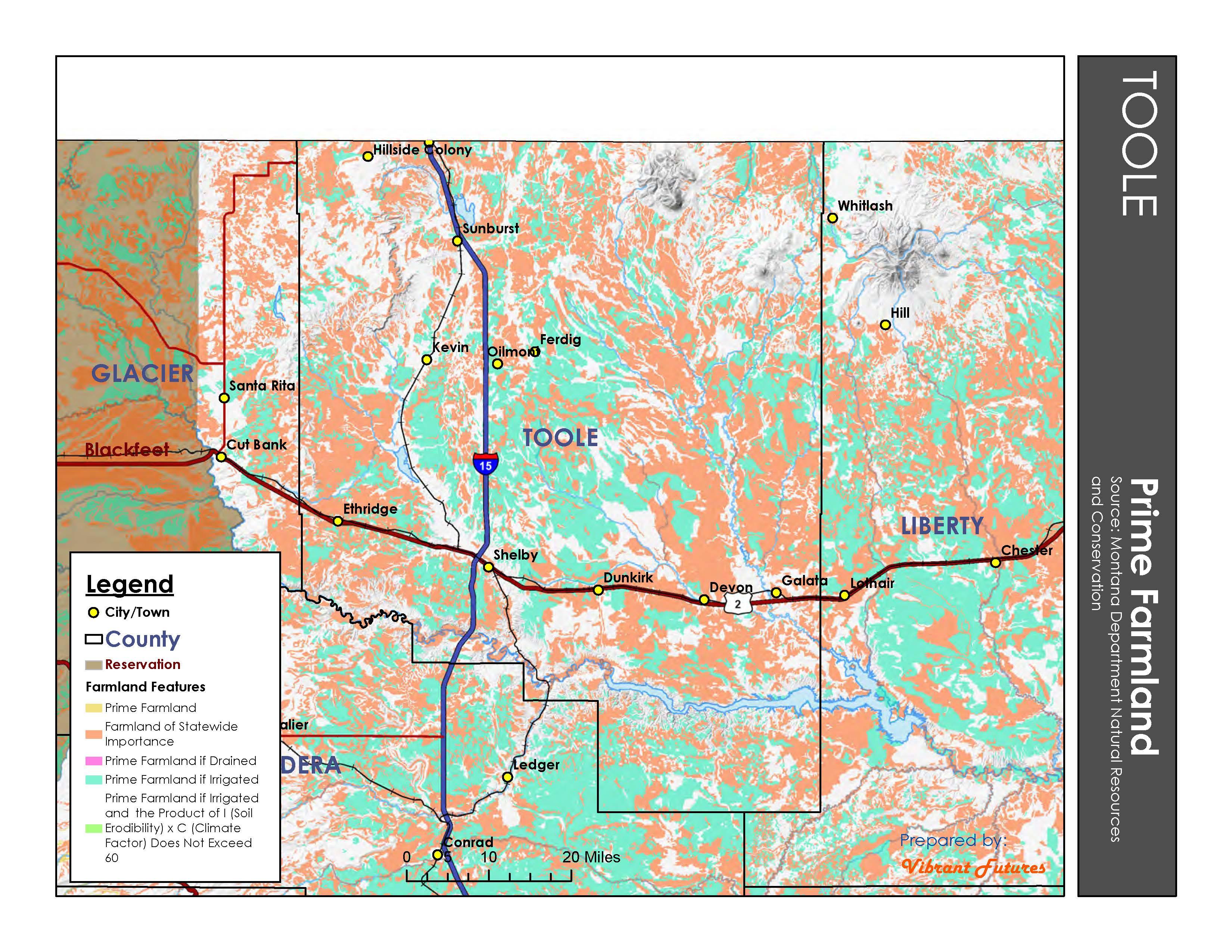 Prime Farmland Toole County