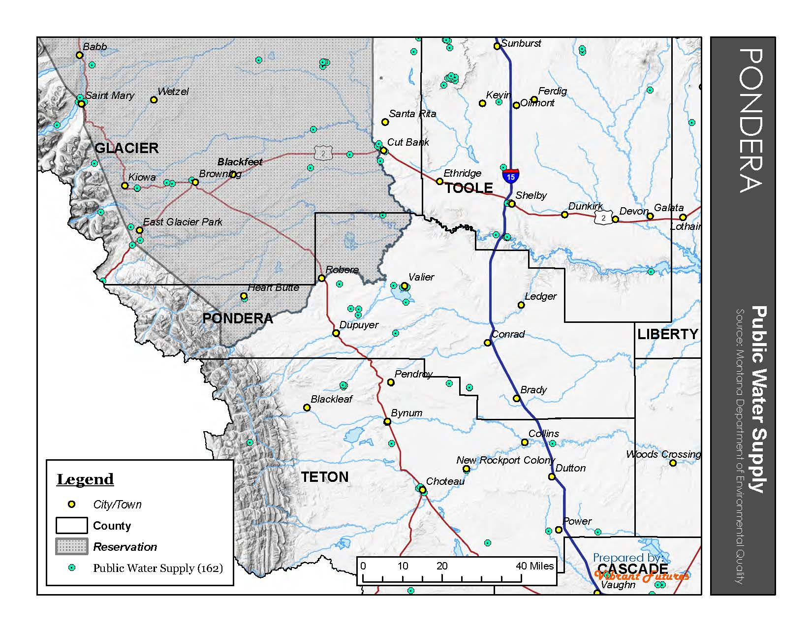 Public Water Supply Pondera County