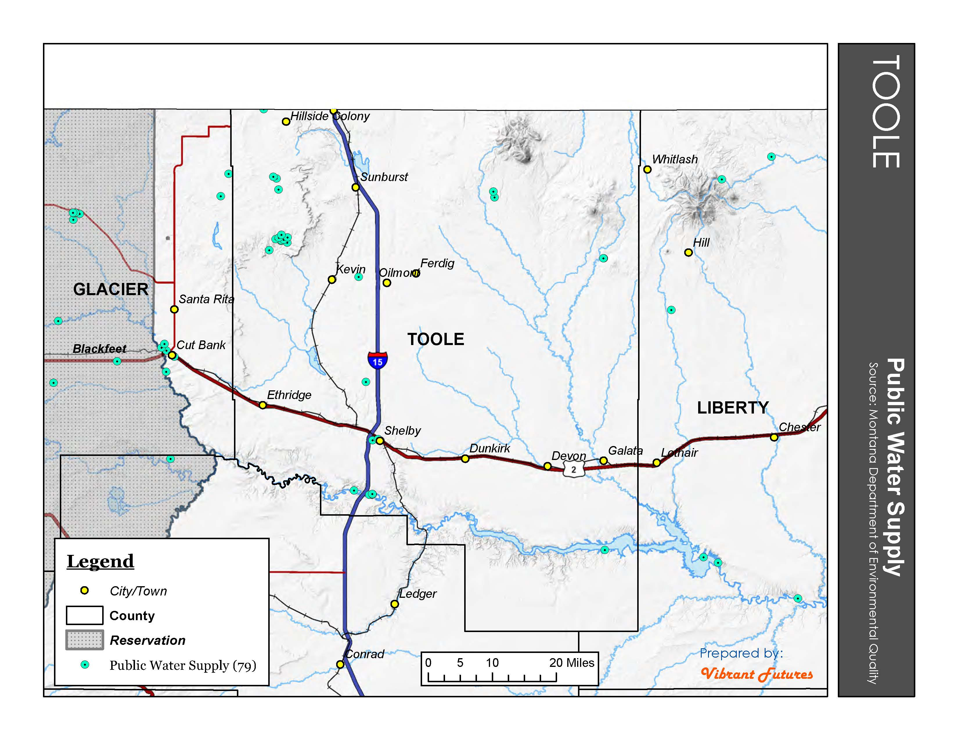Public Water Supply Toole County