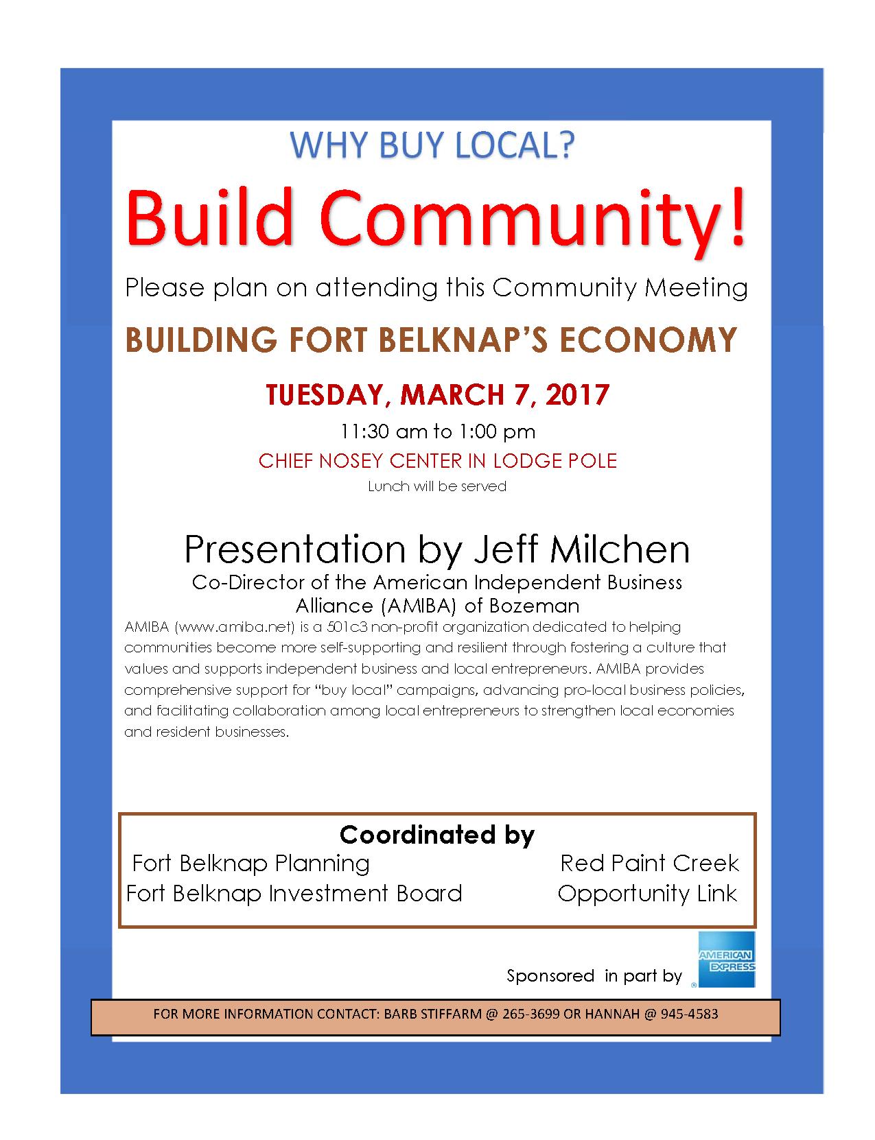 community meeting flyer FB AMIBA bjs